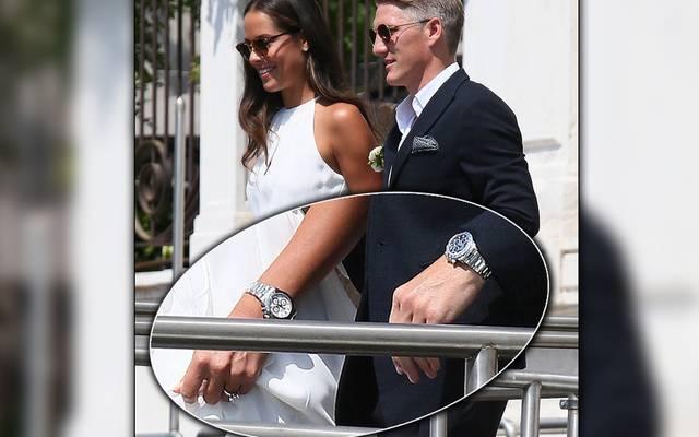 Ana Ivanovic und Bastian Schweinsteiger gönnten sich zur Hochzeit teure Uhren