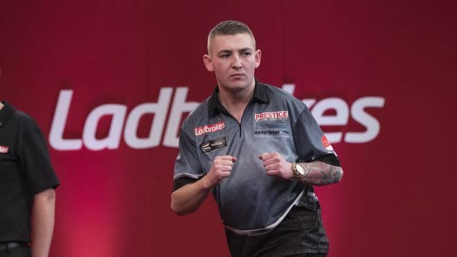 Nathan Aspinall feierte bei den UK Open seinen ersten großen Turniersieg