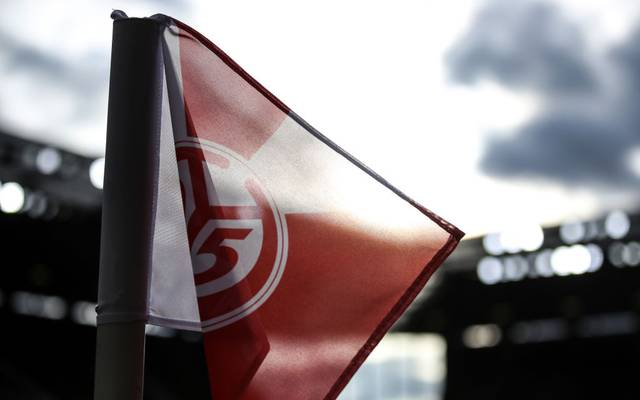 MAINZ, GERMANY - JANUARY 18: A detailed view of a corner flag prior to the Bundesliga match between 1. FSV Mainz 05 and Sport-Club Freiburg at Opel Arena on January 18, 2020 in Mainz, Germany. (Photo by Alex Grimm/Bongarts/Getty Images)