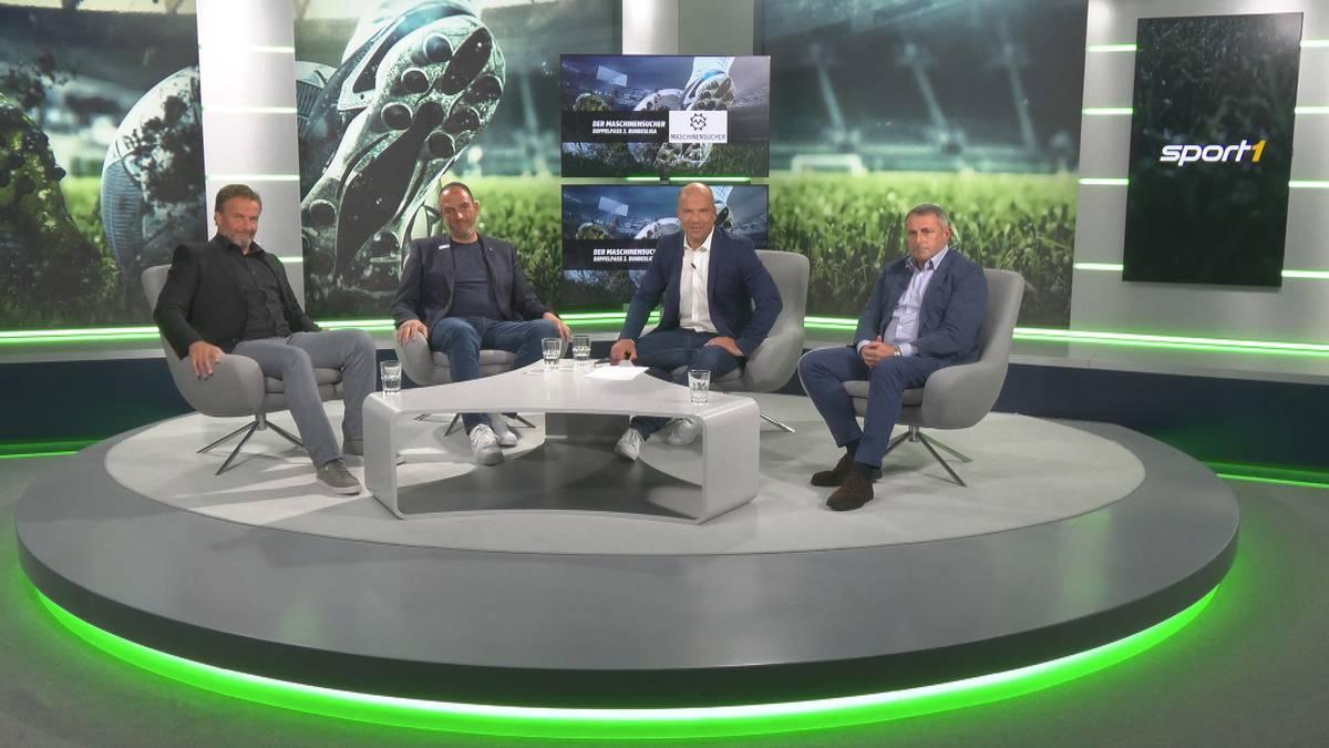 Sendung verpasst? Der Maschinensucher Doppelpass 2. Bundesliga mit Allofs und Schmidt