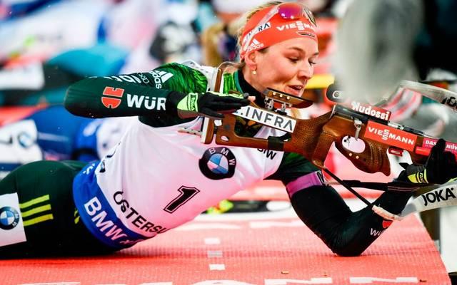 Denise Herrmann hat sich den deutschen Meistertitel im Sprint gesichert
