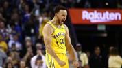 Stephen Curry steht in der ewigen Bestenliste der NBA-Dreierschützen schon auf Platz 3