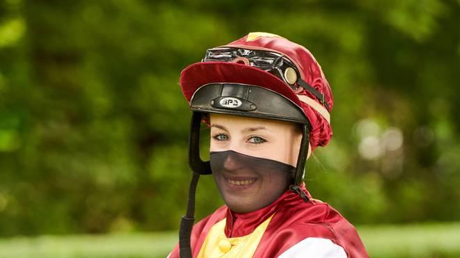 Sybille Vogt ist als Reiterin dabei