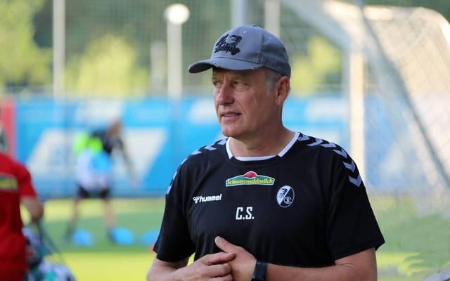 Christian Streich ist seit Januar 2012 Cheftrainer beim SC Freiburg