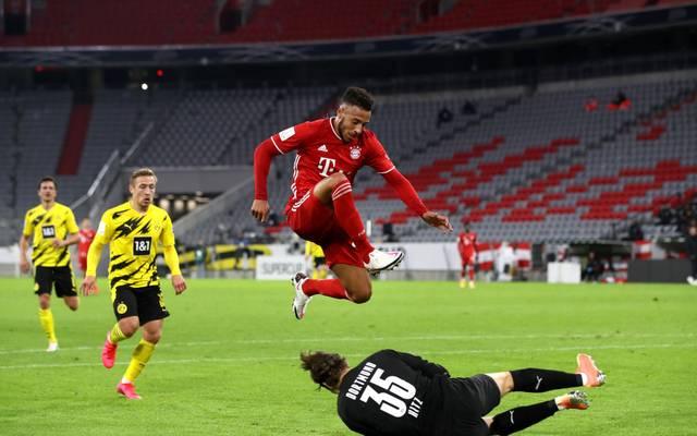 Corentin Tolisso erzielte die Bayern-Führung