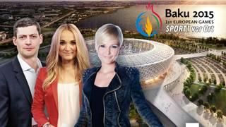 SPORT1 vor Ort in Baku