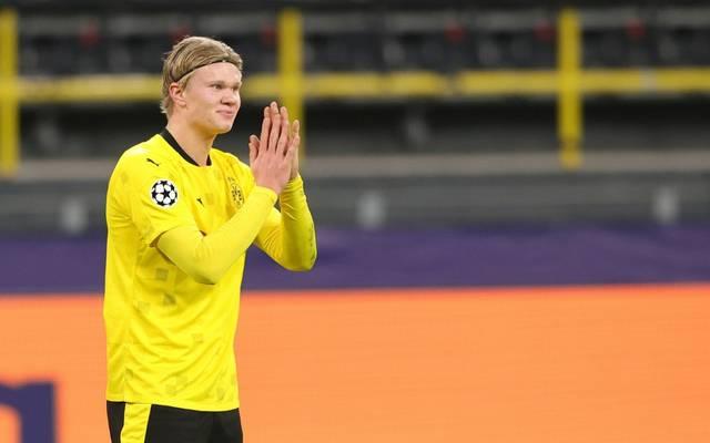 Dortmunds genesener Torjäger Erling Haaland