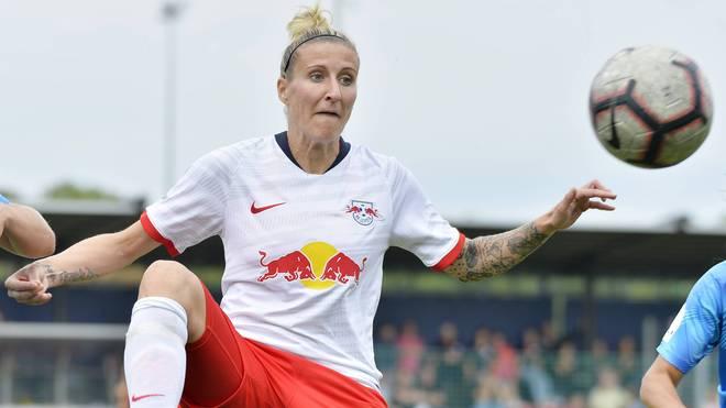 Anja Mittag war zuletzt in der Regionalliga für RB Leipzig aktiv
