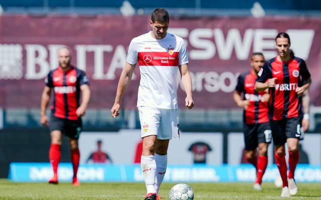 Der VfB Stuttgart hat einen Rückschlag im Kampf um den Aufstieg hinnehmen müssen