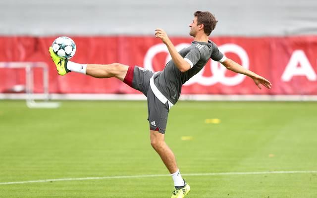 Thomas Müller trainierte erstmals wieder mit der Mannschaft
