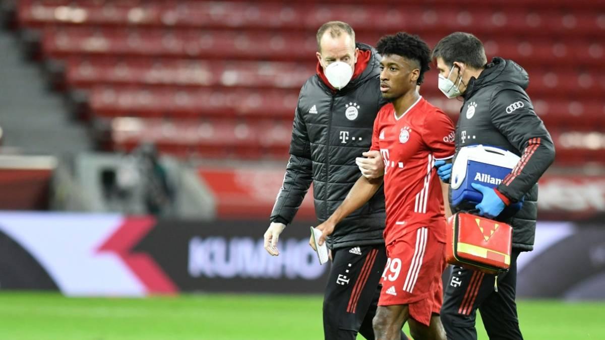 Kingsley Coman fällt für das Spiel gegen Mainz aus