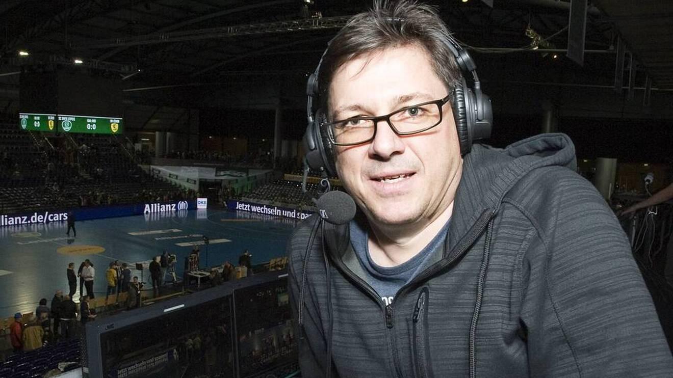 Florian Naß hat sich als Handball-Kommentator bereits einen Namen gemacht
