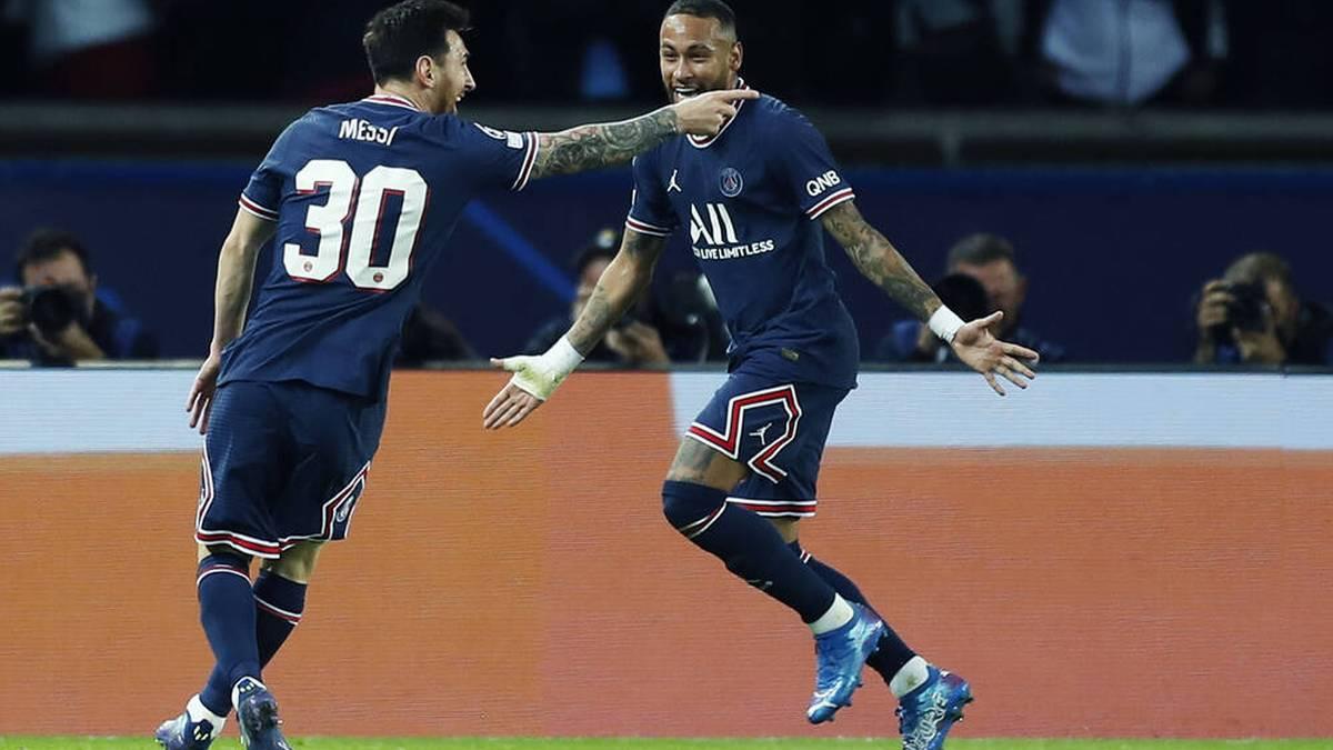 Gemeinsam könnten sie in Paris Geschichte schreiben: Lionel Messi und Neymar