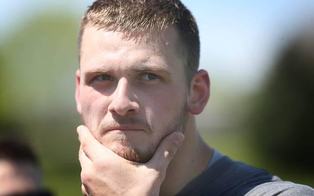 Moritz Böhringer wurde beim NFL-Draft 2016 ausgewählt