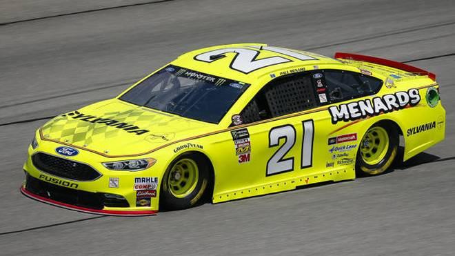 Paul Menard im Wood-Ford fuhr erstmals seit Juli 2008 in Daytona auf die Pole