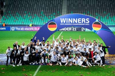 Nach dem Sieg im ersten Spiel will die deutsche U21-Nationalmannschaft auch im zweiten Spiel punkten