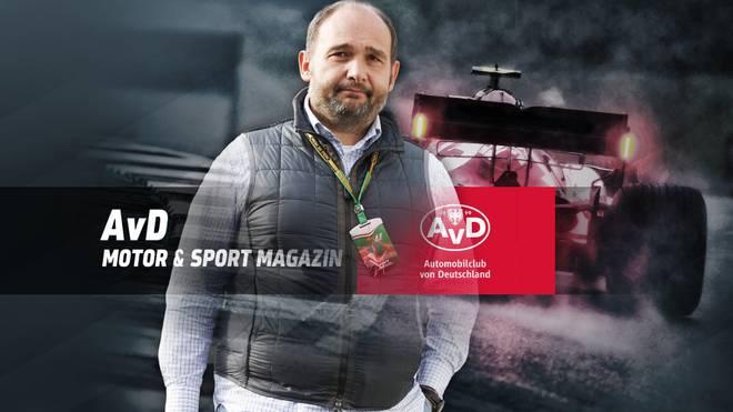 Der ehemalige F1-Teamchef Colin Kolles ist am Sonntag zu Gast im AvD Motorsport Magazin