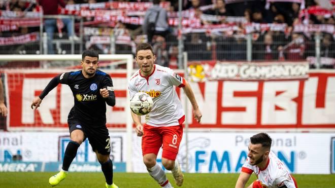 Regensburg und Duisburg trennten sich unentschieden