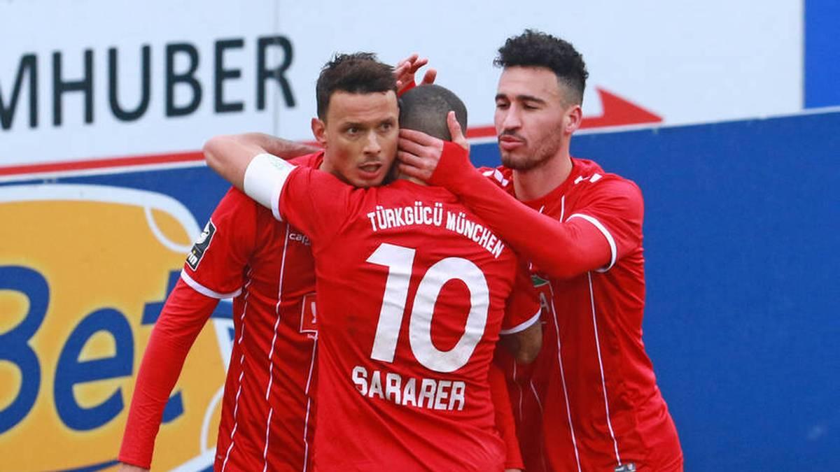 Petar Sliskovic (l.) und Sercan Sararer sind die Topspieler in Reihen von Aufsteiger Türkgücü München