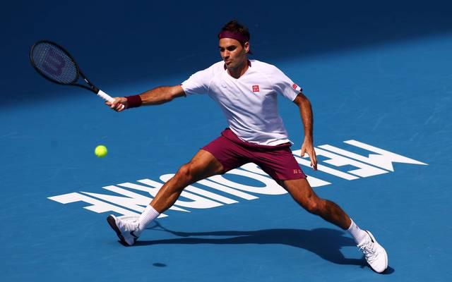 Roger Federer trifft im Halbfinale auf seinen großen Rivalen Novak Djokovic