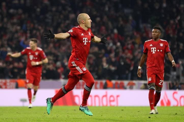 Der FC Bayern feiert gegen Benfica Lissabon einen 5:1-Kantersieg. Arjen Robben lieferte seine stärkste Partie in dieser Saison ab. Aber auch andere glänzten. Die SPORT1-Einzelkritik
