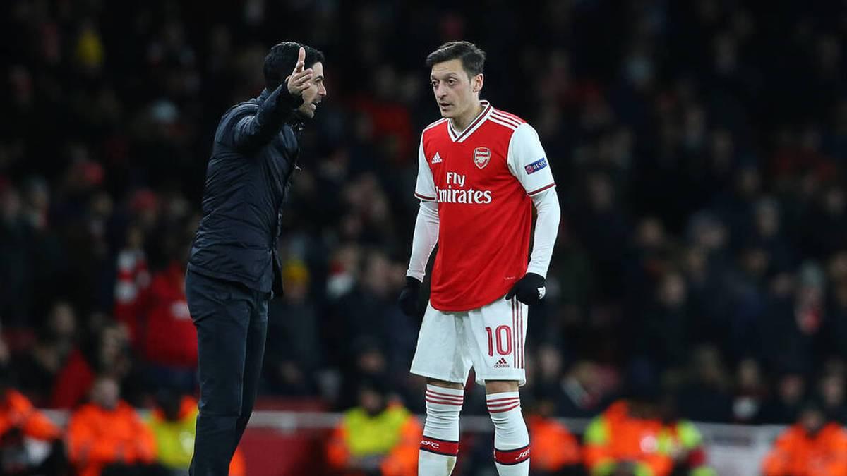 Mesut Özil hat in letzter Zeit überhaupt keine Rolle mehr beim FC Arsenal gespielt. Umso mehr überraschen die Abschiedsworte von Mikel Arteta.