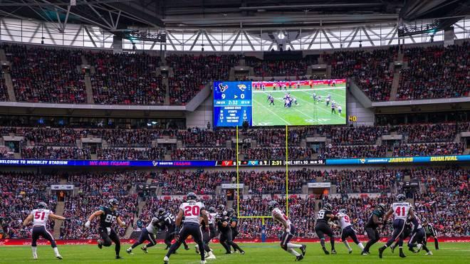 Auch im Wembley Stadium in London fand schon ein NFL-Spiel statt