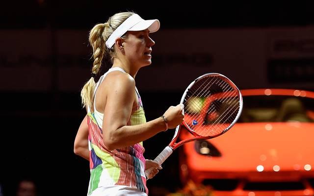 Angelique Kerber steht beim WTA-Turnier in Stuttgart im Halbfinale
