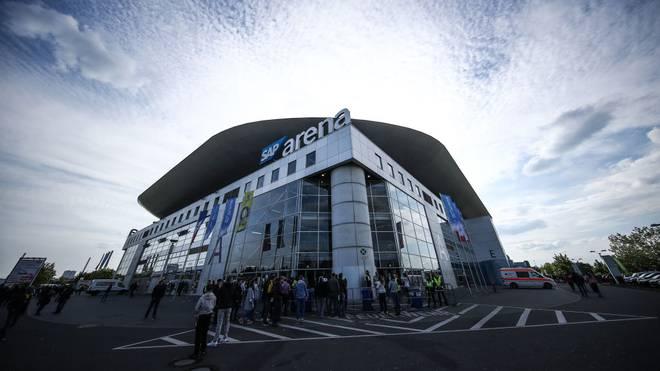 Die SAP-Arena bleibt bis 2025 Austragungsort der DVV-Pokalfinals