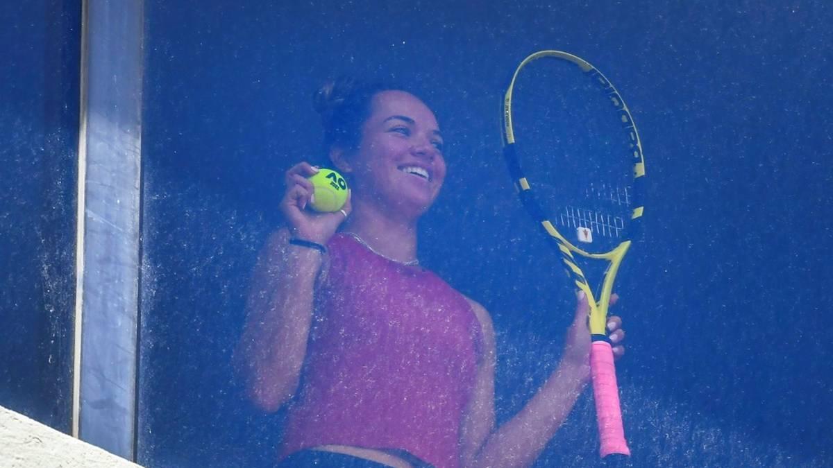 Die Tennis-Profis befinden sich in Melbourne weiter im Hotelzimmer