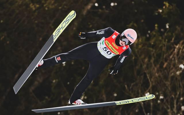 Karl Geiger wurde bei der Vierschanzentournee Dritter