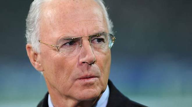 Franz Beckenbauer geriet in der Affäre um die WM 2006 immer wehr unter Druck