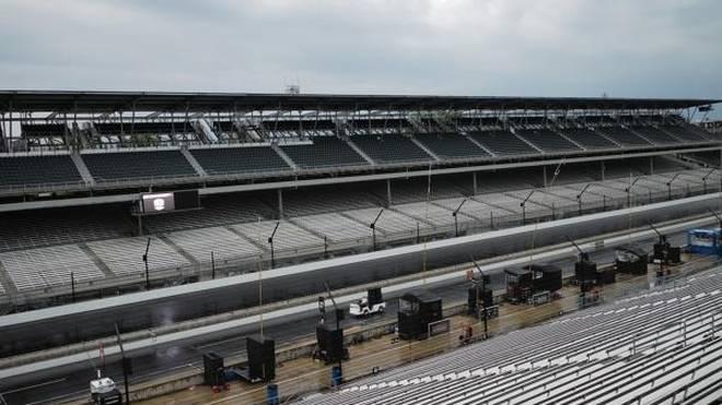 Das Indianapolis 500 droht, dem Regen zum Opfer zu fallen
