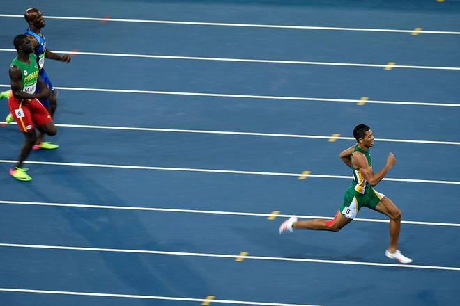 Wayde van Niekerk lief 2016 bei Olympia zum Weltrekord