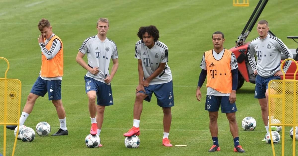 FC Bayern: Thiago nach Verletzung im Mannschaftstraining zurück
