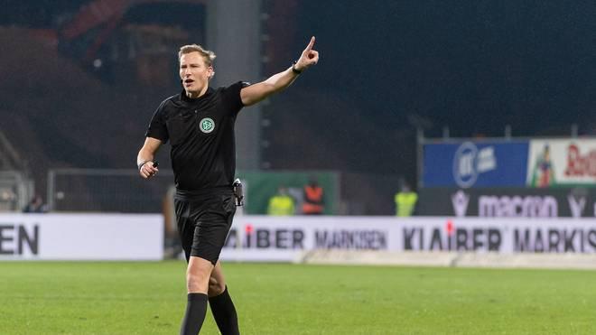 Martin Petersen bekommt für den heutigen Bundesligasamstag eine Pause