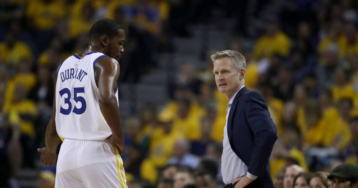 NBA: Warriors-Coach Steve Kerr spricht über Abgang von Kevin Durant - SPORT1