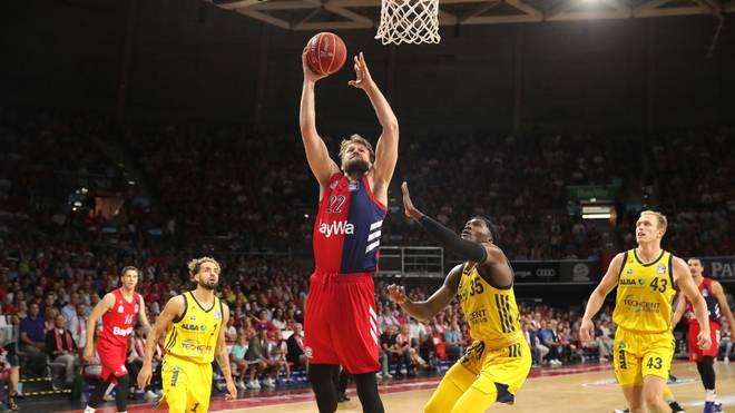 Der FC Bayern München Basketball ist in der EuroLeague bei Panathinaikos Athen gefordert