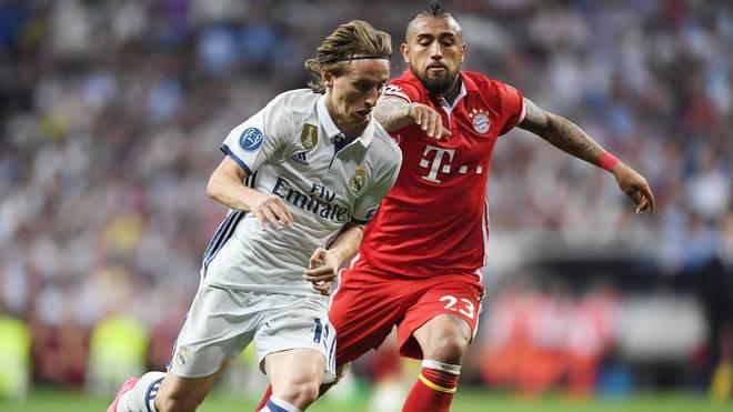 Luka Modric (l.) wurde zum besten Spieler der WM gewählt