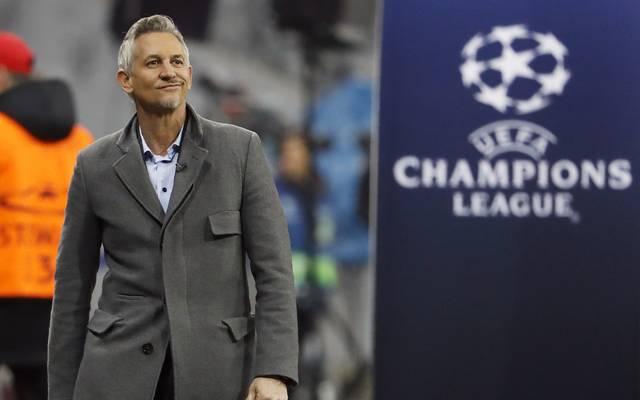 Gary Lineker begleitet die Champions League regelmäßig als TV-Experte