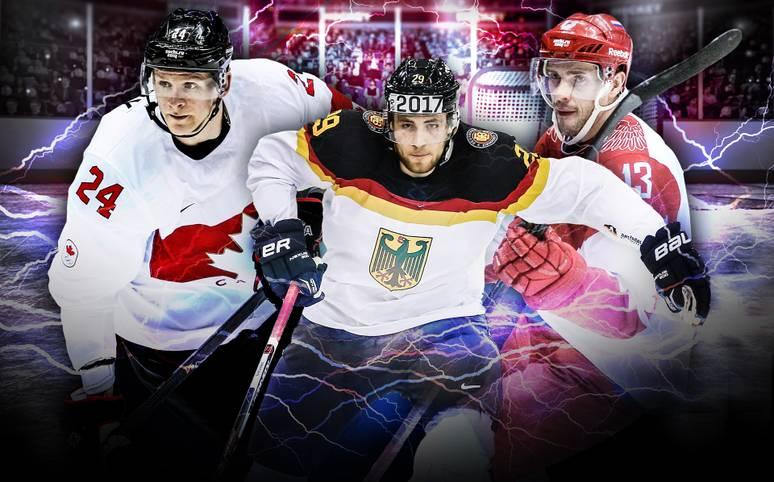 Endlich geht es los. In Moskau und St. Petersburg wird 2016 die Eishockey-WM (LIVE im TV auf SPORT1) ausgetragen. Vor heimischer Kulisse will die Sbornaja die 1:6-Finalschmach von 2015 gegen Kanada wettmachen und schickt ein hochkarätiges Team auf das Eis. Die USA bringen ihr Phänomen mit. Wie schlägt sich Leon Draisaitl? SPORT1 stellt die Stars der WM vor