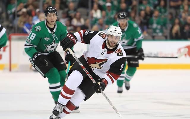 Tobias Rieder spielt seit Ende März 2013 für die Arizona Coyotes in der NHL