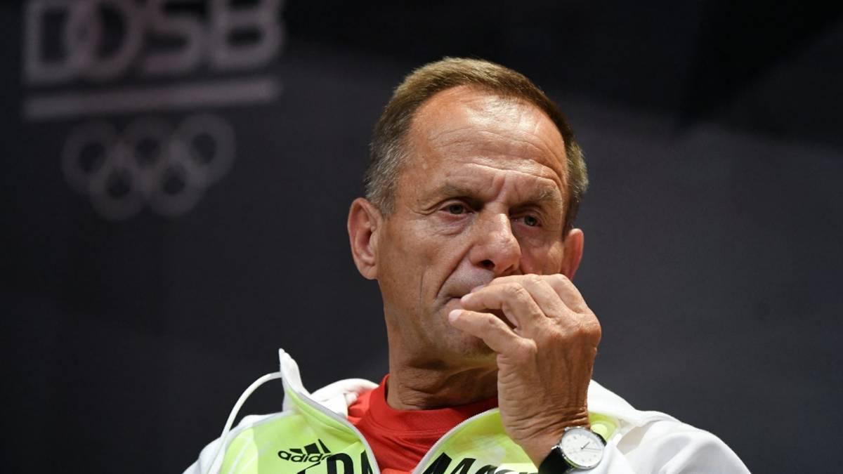 DOSB-Präsident Alfons Hörmann tritt zurück