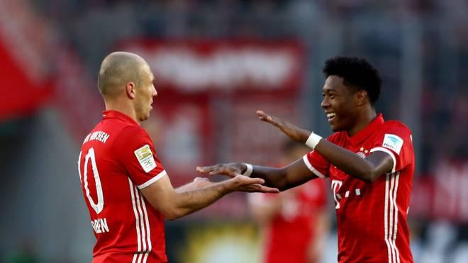 Das Trikot des FC Bayern in der Saison 2016/17