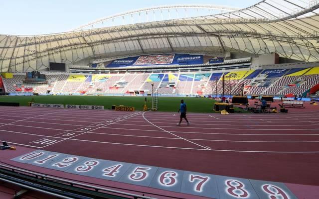 Das Stadion in Doha ist bei der WM nur selten gut gefüllt