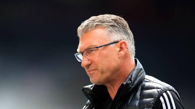 Trainer Nigel Pearson muss beim FC Watford seinen Stuhl räumen