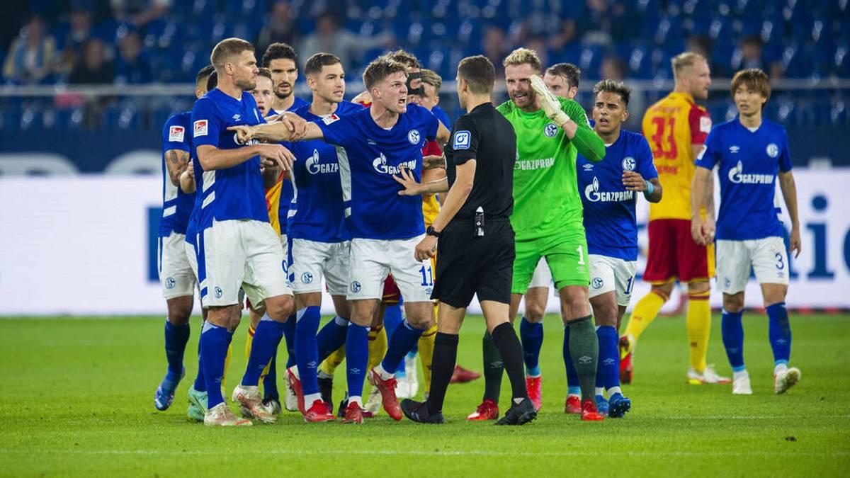 """Schalke schlägt sich selbst - """"An der eigenen Nase packen"""""""