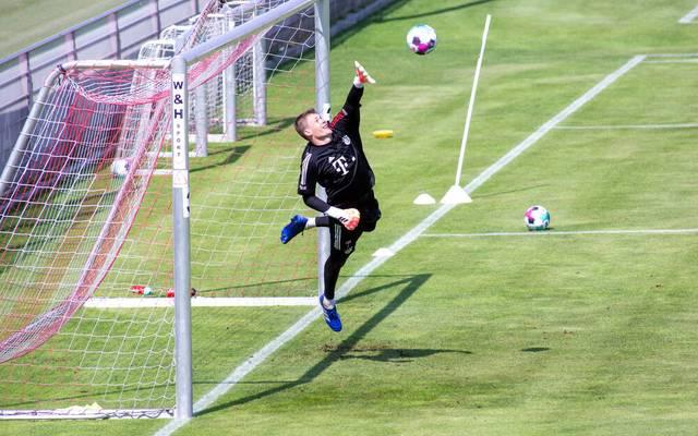Alexander Nübel ist beim FC Bayern als Nachfolger für Manuel Neuer eingeplant