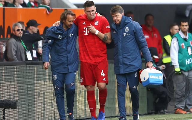 Niklas Süle zog sich am 8. Spieltag gegen den FC Augsburg einen Kreuzbandriss zu