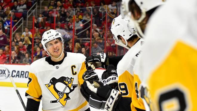 Sidney Crosby hat mit den Pittsburgh Penguins den Spitzenreiter in der NHL besiegt